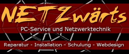 Logo Netzwärts - PC-Service und Netzwerktechnik